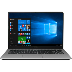 "Laptop ASUS VivoBook S15 S530FA-BQ001R, Intel Core i5-8265U pana la 3.4GHz, 15.6"" Full HD, 8GB, SSD 256GB, Intel UHD Graphics 620, Windows 10 Pro, Gun Metal"
