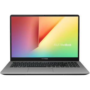 "Laptop ASUS VivoBook S15 S530FA-BQ062, Intel Core i7-8565U pana la 4.6GHz, 15.6"" Full HD, 8GB, HDD 1TB + SSD 128GB, Intel UHD Graphics 620, Endless, Gun Metal"