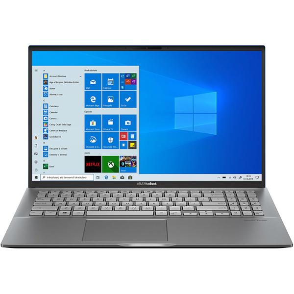 """Laptop ASUS VivoBook S15 S531FL-BQ036T, Intel Core i7-8565U pana la 4.6GHz, 15.6"""" Full HD, 16GB, SSD 512GB, NVIDIA GeForce MX250 2GB, Windows 10 Home, Gun Metal"""