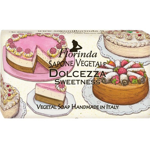 Sapun vegetal LA DISPENSA Florinda Dolce Vita Dolcezza, 100g
