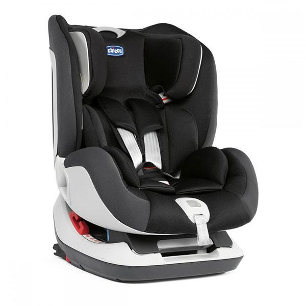 Scaun auto CHICCO Seat Up 012, Isofix, 0 - 25kg, negru