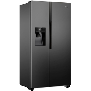 Side-by-Side GORENJE NRS9182VB, 535 l, 179 cm, A++, negru