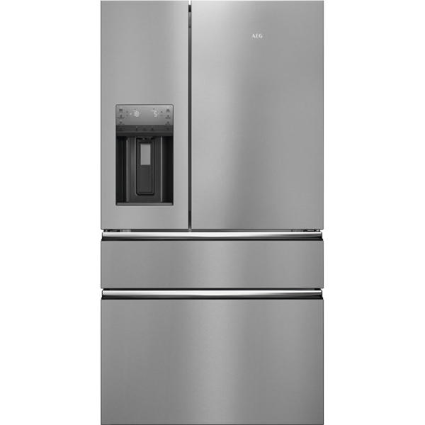 Side-by-Side AEG RMB96716CX, 541 l, A+, inox
