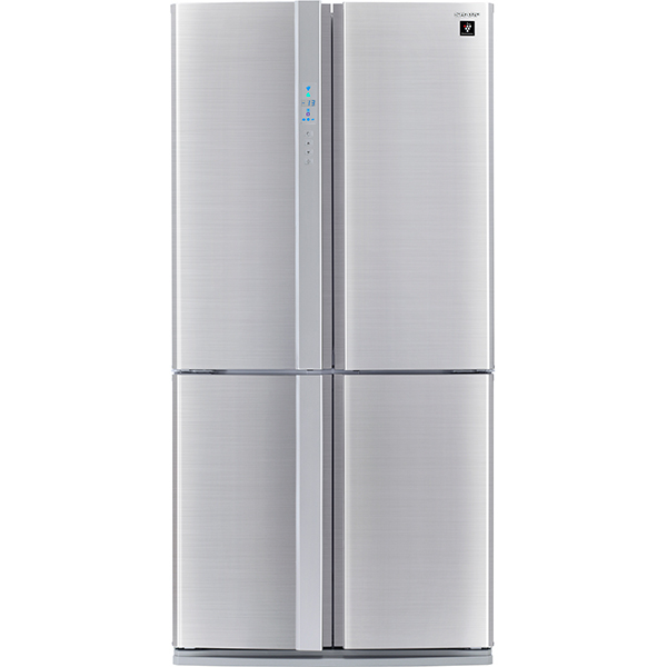Side-by-Side SHARP SJFP810VST, 605 l, 183, A+, inox