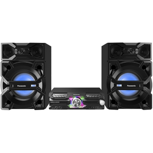 Sistem audio High Power PANASONIC SC-MAX3500EK, 2400W, Bluetooth, FM, negru