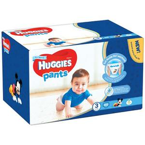 Scutece chilotei HUGGIES 3, Baieti, 6 - 11 kg, 88 buc