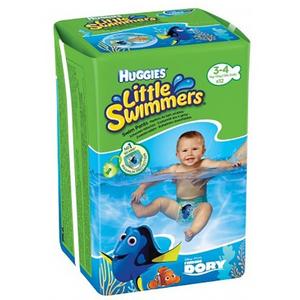 Scutece chilotei pentru apa HUGGIES Little Swimmers 3 - 4, 7 - 15 kg, 12 buc