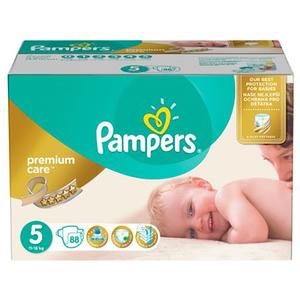Scutece PAMPERS Premium Care Mega Box 5, Unisex, 11 - 18 kg, 88 buc