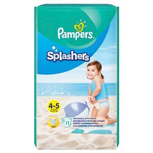 Scutece chilotei pentru apa PAMPERS Splash 4, Unisex, 9 - 15 kg, 11 buc
