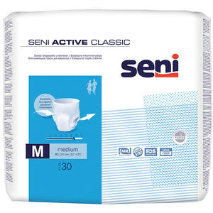Scutece tip chilot SENI Active Classic, M, 30 buc