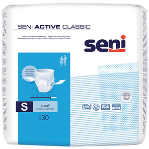 Scutece tip chilot SENI Active Classic, S, 30 buc