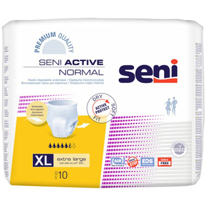 Scutece tip chilot SENI Active Normal, XL, 10 buc