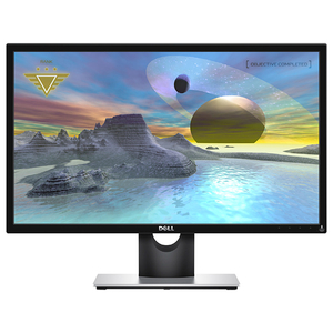 "Monitor Gaming LED TN DELL SE2417HG, 24"", Full HD, 60Hz, negru-gri"