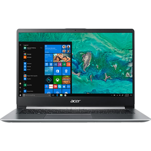 "Laptop ACER Swift 1 SF114-32-P7D9, Intel® Pentium® Silver N5000 pana la 2.7GHz, 14"" Full HD, 4GB, SSD 256GB, Intel® UHD Graphics 605, Windows 10 Home, Silver"