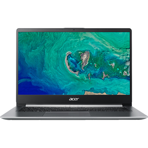 "Laptop ACER Swift 1 SF114-32-P9HN, Intel® Pentium® Silver N5000 pana la 2.7GHz, 14"" Full HD, 4GB, SSD 128GB, Intel® UHD Graphics 605, Linux, Silver"