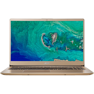 "Laptop ACER Aspire Swift 3 SF315-52-54EV, Intel® Core™ i5-8250U pana la 3.4GHz, 15.6"" Full HD, 8GB, SSD 256GB, Intel® UHD Graphics 620, Linux, Gold"