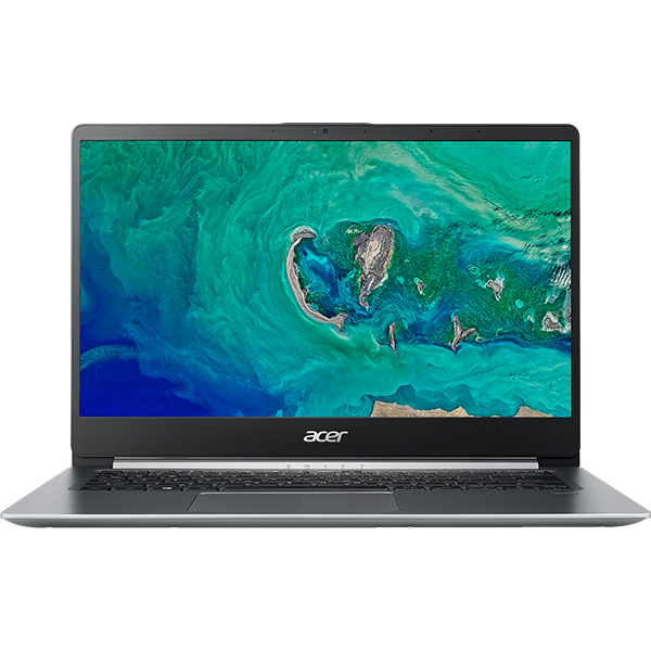 "Laptop ACER Swift 1 SF114-32-P9HN, Intel® Pentium® Silver N5000 pana la 2.7GHz, 14"" Full HD, 4GB, SSD 128GB, Intel® UHD Graphics 605, Linux, Silver"