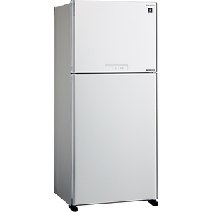 Frigider cu doua usi SHARP SJ-XG690MWH, Hybrid Cooling, 556 l, H 187 cm, Clasa A++, alb