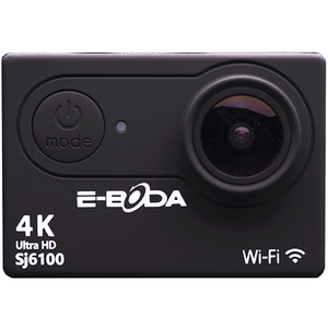 Camera video sport E-BODA SJ6100W, 4K, WI-FI, negru