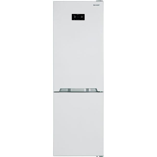 Combina frigorifica SHARP SJ-BA31IHW2-EU, Advanced NoFrost, 324 l, H 186 cm, Clasa A++, alb