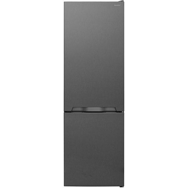 Combina frigorifica SHARP SJ-BB04DTXL1, 268 l, 170 cm, A+, argintiu