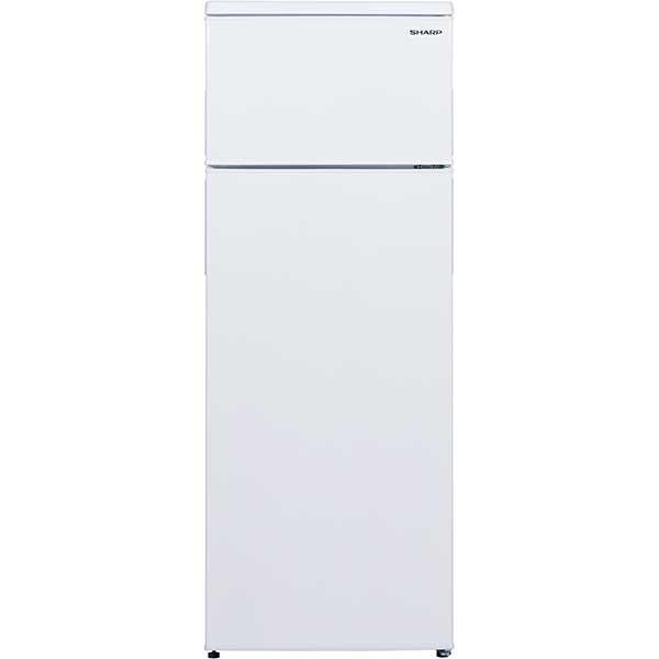 Frigider cu 2 usi SHARP SJ-T1227M5W-EU, 227 l, 144 cm, A+, alb