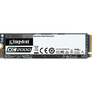 Solid-State Drive KINGSTON KC2000, 250GB, M.2 NVMe PCIe 3.0 x4, SKC2000M8/250G