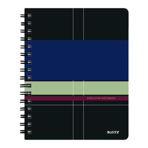 Caiet de birou LEITZ, matematica, A5, 80 file, legatura spirala, violet