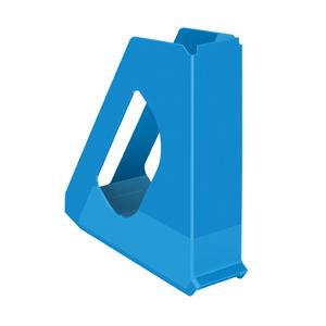 Suport documente ESSELTE Europost Vivida, plastic, albastru