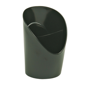 Suport instrumente de scris ESSELTE Europost Vivida, 2 compartimente, plastic, negru