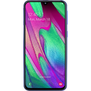 Telefon SAMSUNG Galaxy A40, 64GB, 4GB RAM, Dual SIM, Blue