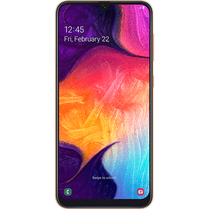 Telefon SAMSUNG Galaxy A50, 128GB, 4GB RAM, Dual SIM, Orange-Coral