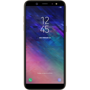 Telefon SAMSUNG Galaxy A6 (2018), 32GB, 3GB RAM, Dual SIM, Gold