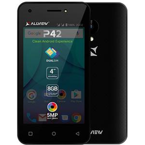 Telefon ALLVIEW P42, 8GB, 1GB RAM, dual sim, Black