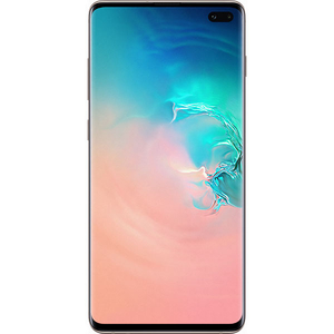 Telefon SAMSUNG Galaxy S10 Plus, 1TB, 12GB RAM, Dual SIM, Ceramic White