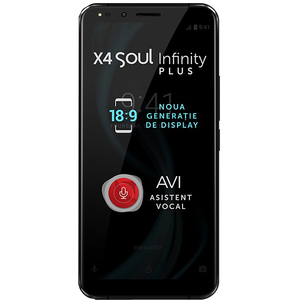 """Telefon ALLVIEW X4 Soul Infinity Plus, 6""""HD+,Camere foto 13+5MP si 13MP, 64GB, 6GB RAM, Night Sky"""