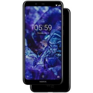 Telefon NOKIA 5.1 Plus 32 GB, 3GB RAM, Dual SIM, Black