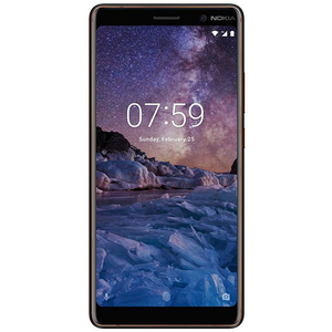 Telefon NOKIA 7 Plus, 64GB, 4GB RAM, Dual SIM, Black copper