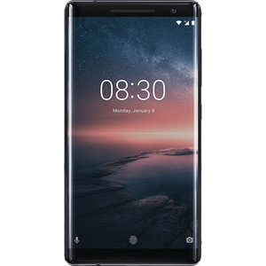 Telefon NOKIA 8 Sirocco, 128GB, 6GB RAM, Single SIM, Black