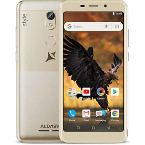 Telefon ALLVIEW P10 Style, 8GB, 1GB RAM, Dual SIM, Gold