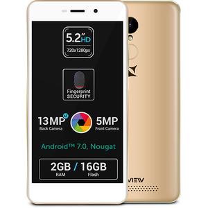 Telefon ALLVIEW P9 Life, 16GB, 2GB RAM, Dual SIM, Gold