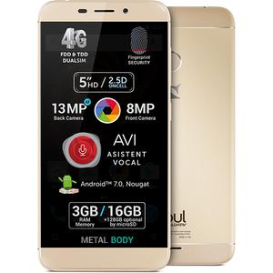Telefon ALLVIEW X4 Soul Mini 16GB, 3GB RAM, dual sim, Gold