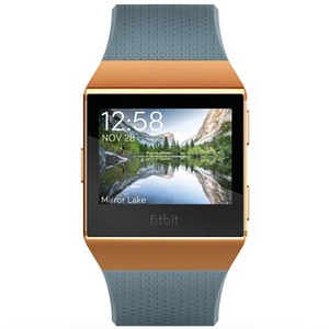 Smartwatch FITBIT Ionic FB503GYBK-EU, Android/iOS, silicon, Blue