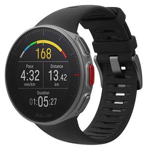Smartwatch POLAR Vantage V, Android/iOS, silicon, negru