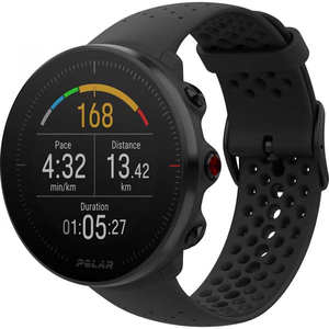 Smartwatch POLAR Vantage M, Android/iOS, silicon, Large, negru