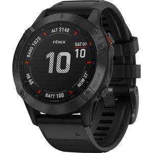 Smartwatch GARMIN Fenix 6 Pro, 47mm, Android/iOS, silicon, negru