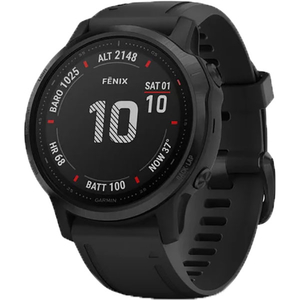 Smartwatch GARMIN Fenix 6S Pro, 42mm, Android/iOS, silicon, negru