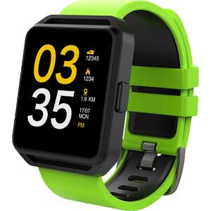 Smartwatch MAXCOM FitGo FW15 Square, Android/iOS, silicon, Verde