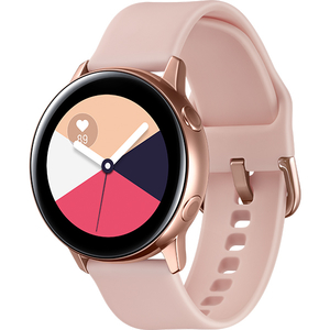 Smartwatch SAMSUNG Galaxy Watch Active, Android/iOS, silicon, Rose Gold