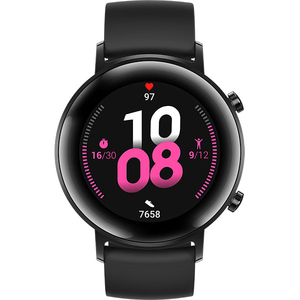 Smartwatch HUAWEI Watch GT 2, Android/iOS, silicon, negru